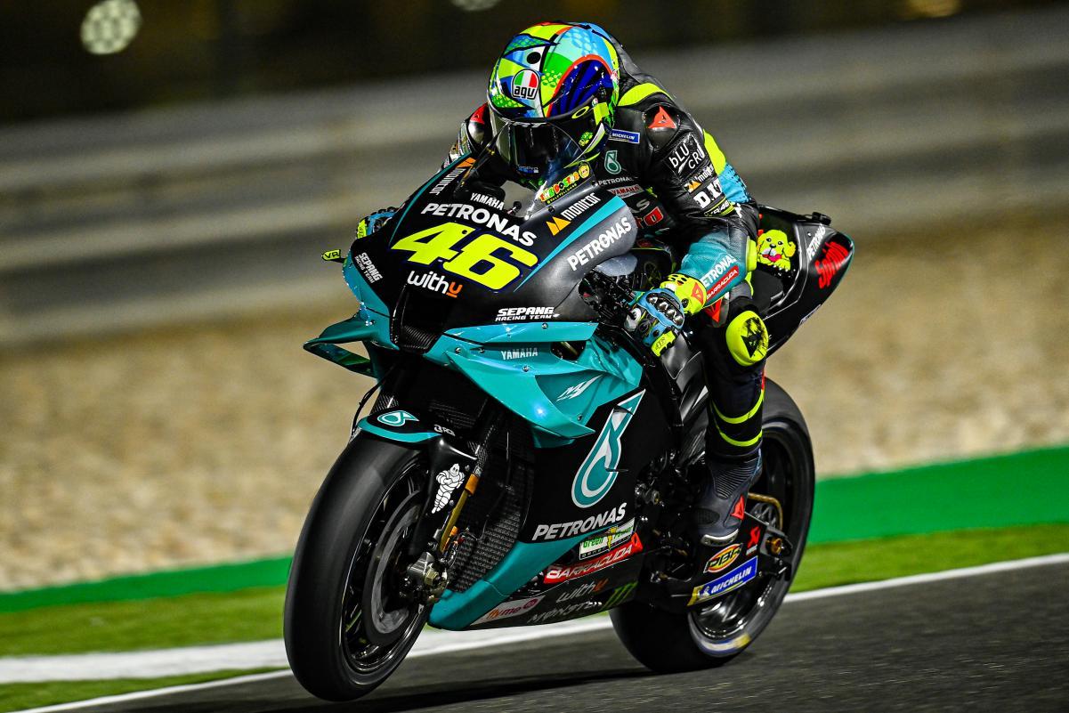 Valentino Rossi Tes MotoGP Qatar