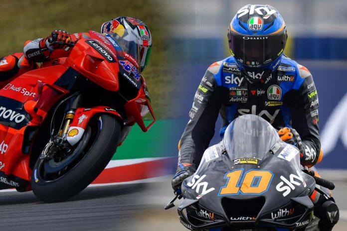 Perbedaan Desmosedici GP19 dan GP21