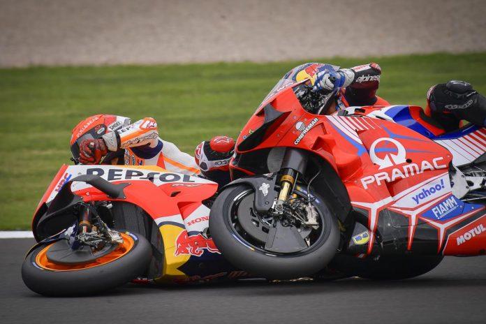 Marquez Martin Silverstone